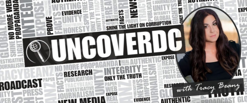UncoverDC with Tracy Beanz Header Logo