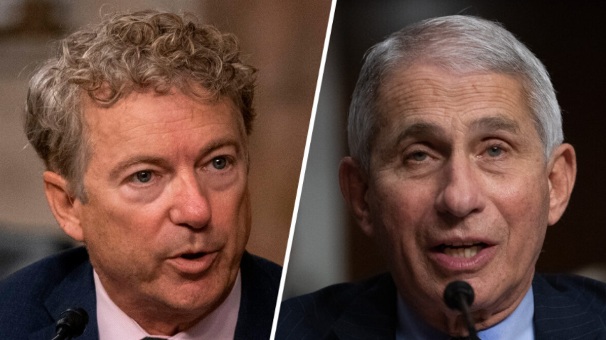 Rand Paul: Fauci 'Can't Escape' NIH Funding of Wuhan Lab